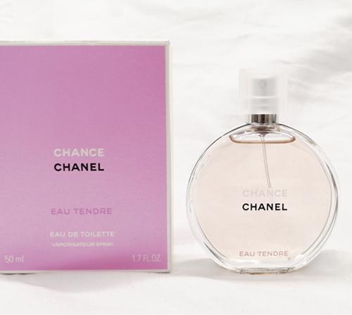シャネル香水チャンス全体の査定画像