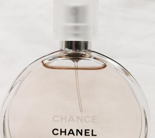 シャネル香水チャンス残量の査定画像