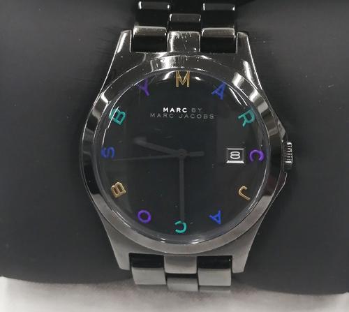 マークジェイコブス腕時計全体の査定画像