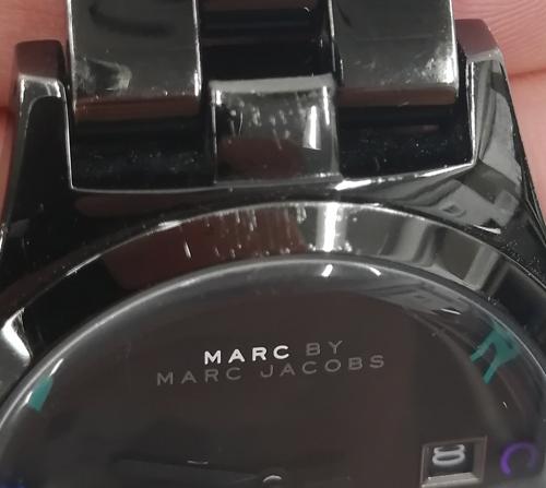 マークジェイコブス腕時計傷の査定画像