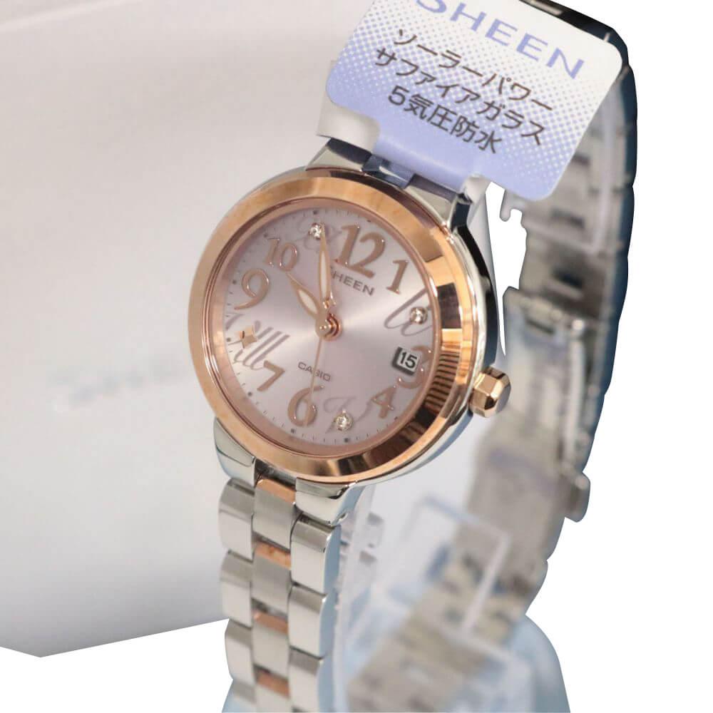 レディース腕時計/シーン/ソーラー/サファイアガラス/SHE-4506