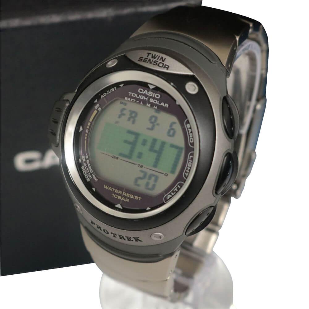 メンズ腕時計/電波ソーラー/プロトレック/PRG-100TJ