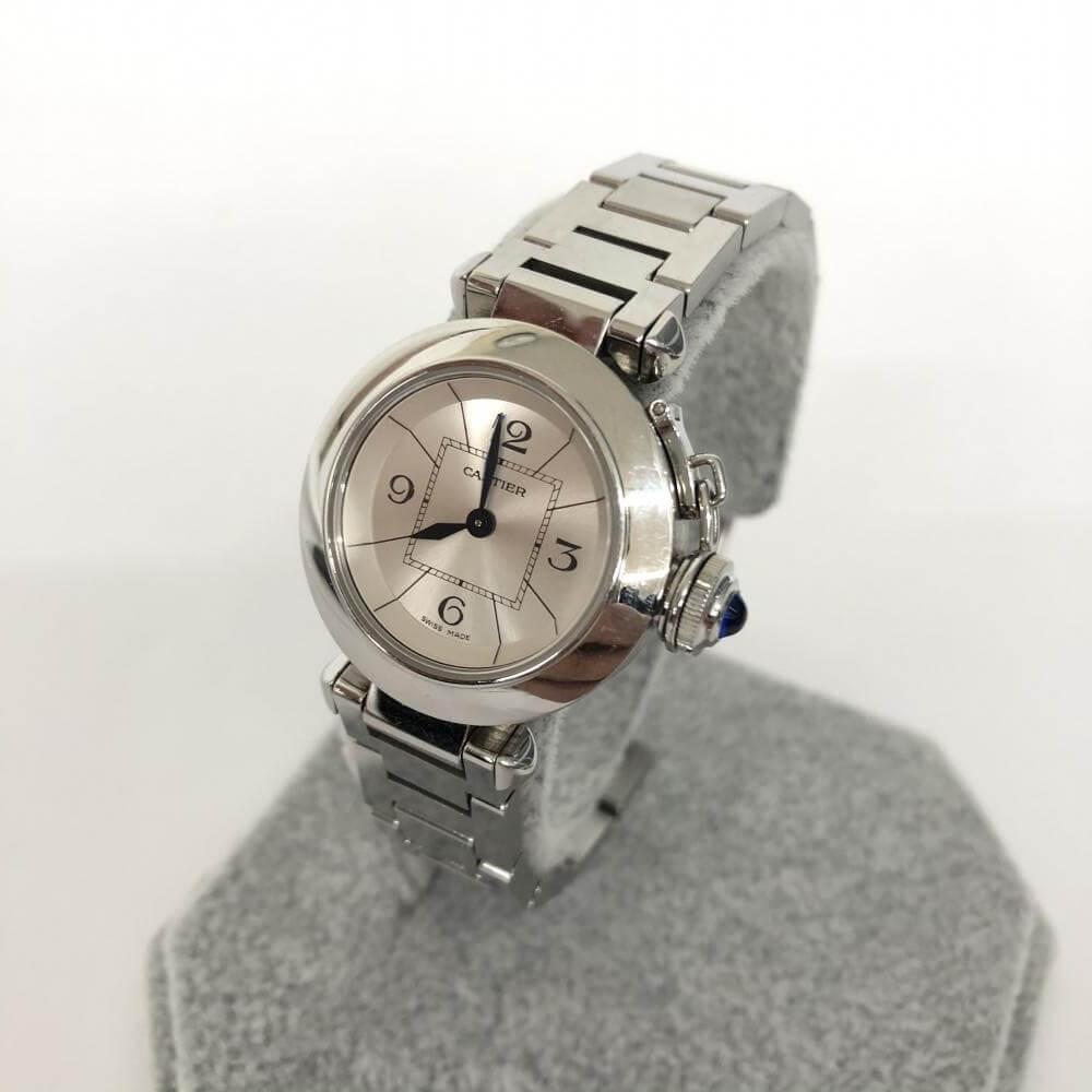 腕時計/ミスパシャ/2973/SSxSS/ホワイト文字盤