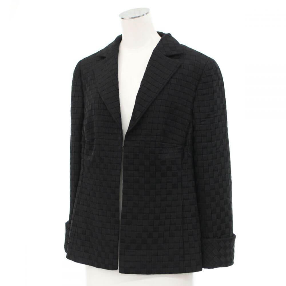 デザインジャケット/ブラック