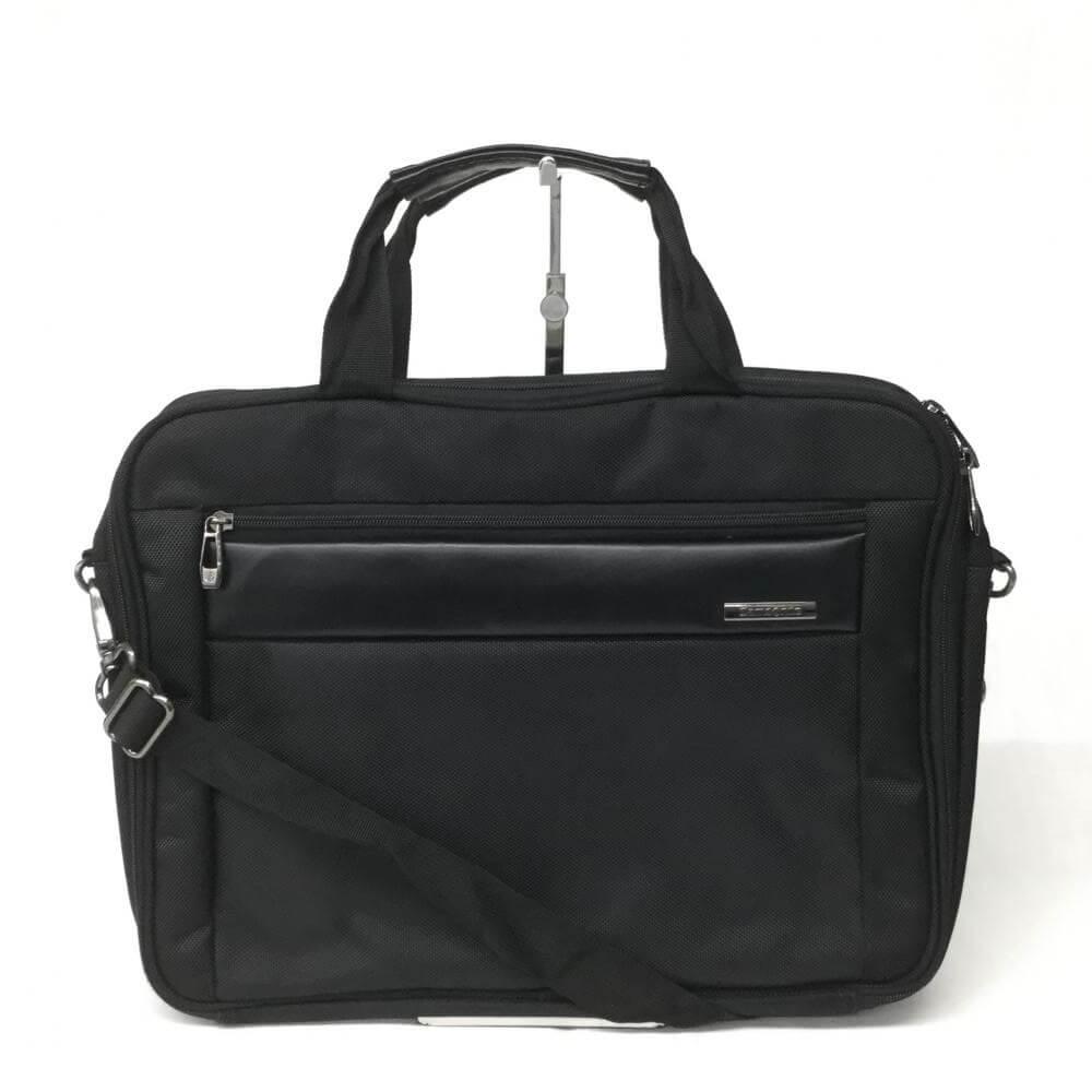 2WAYビジネスバッグ/ナイロンキャンバス/ブラック