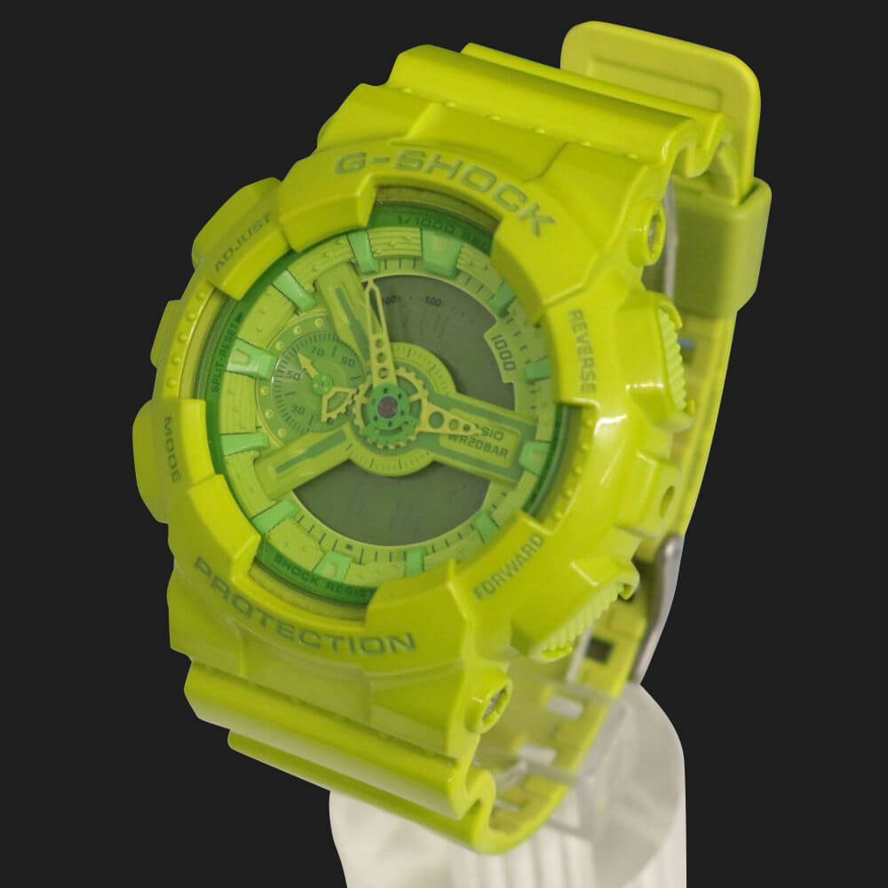 腕時計/デジアナ/GA-110B/ハイパーカラーズ/グリーン