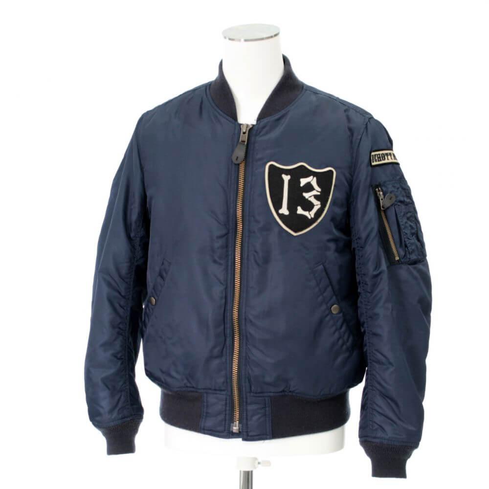 刺繍ワッペン MA-1ジャケット