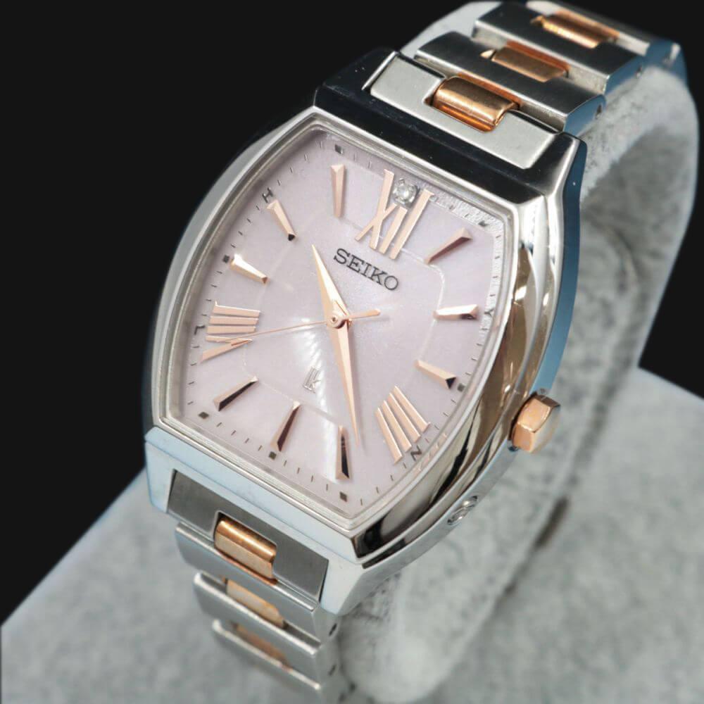 ルキア/L腕時計/電波ソーラー/3B51-0AM0