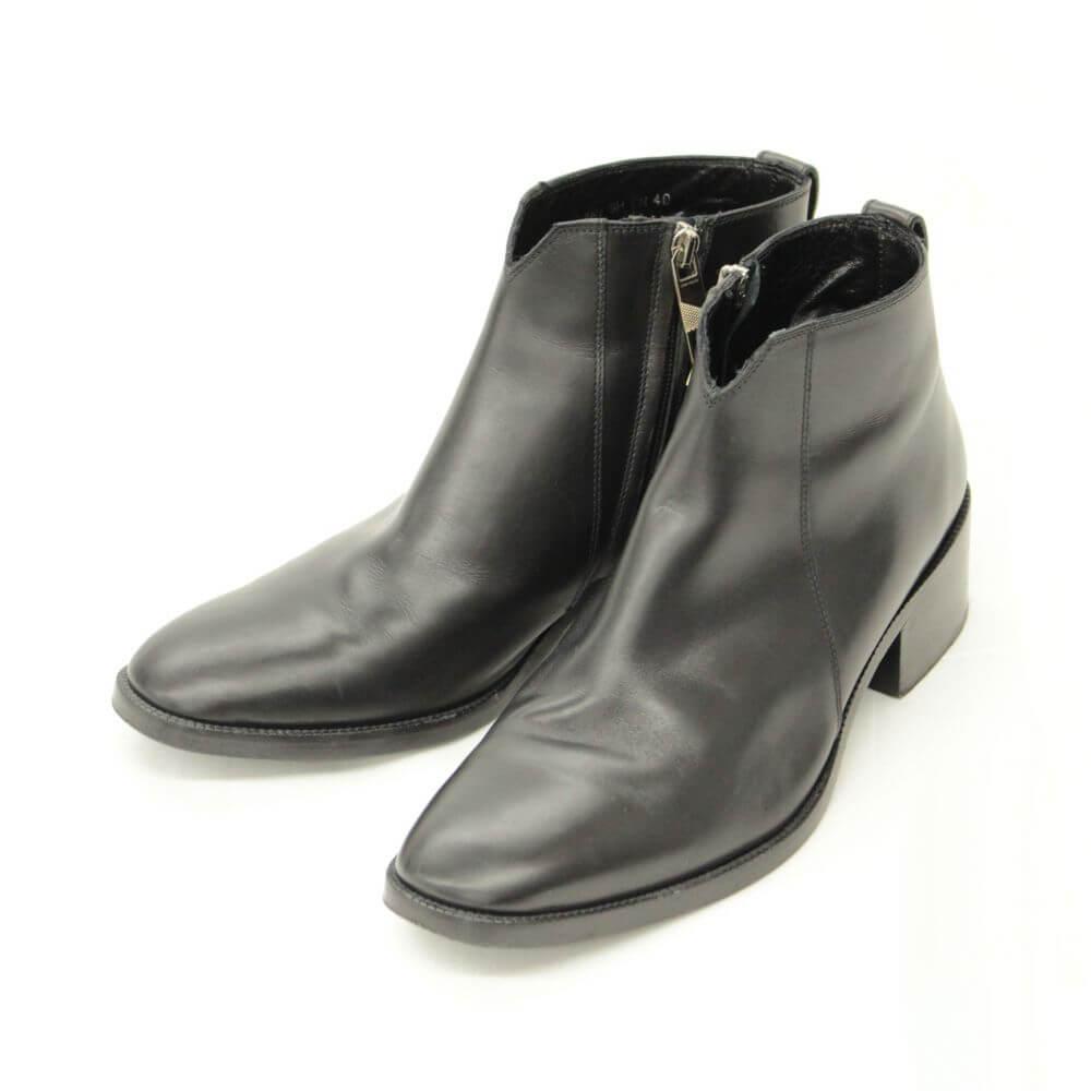 ブーツ/レザー/ブラック