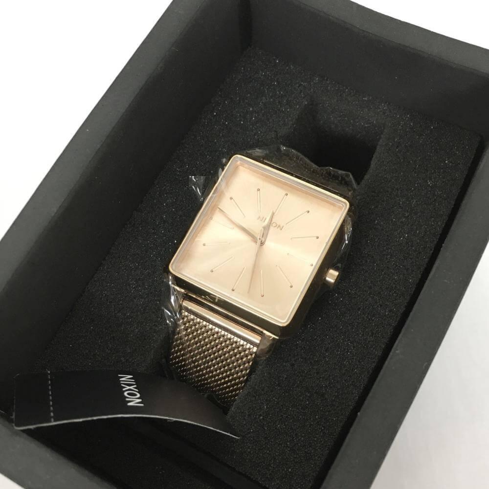 腕時計/クォーツ/A1206/スクエアードミラネーゼ/SS