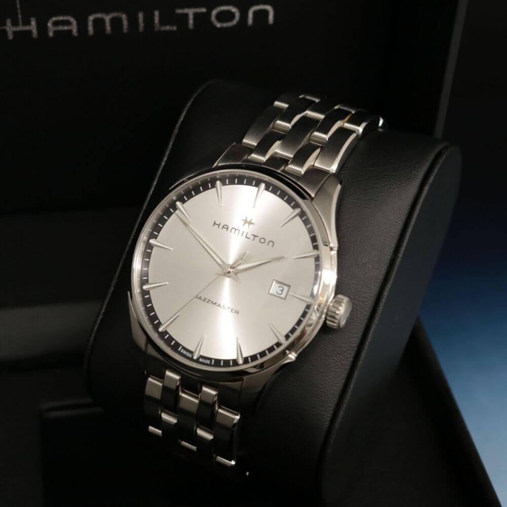 腕時計/ジャズマスター/クォーツ/H324510/シルバー