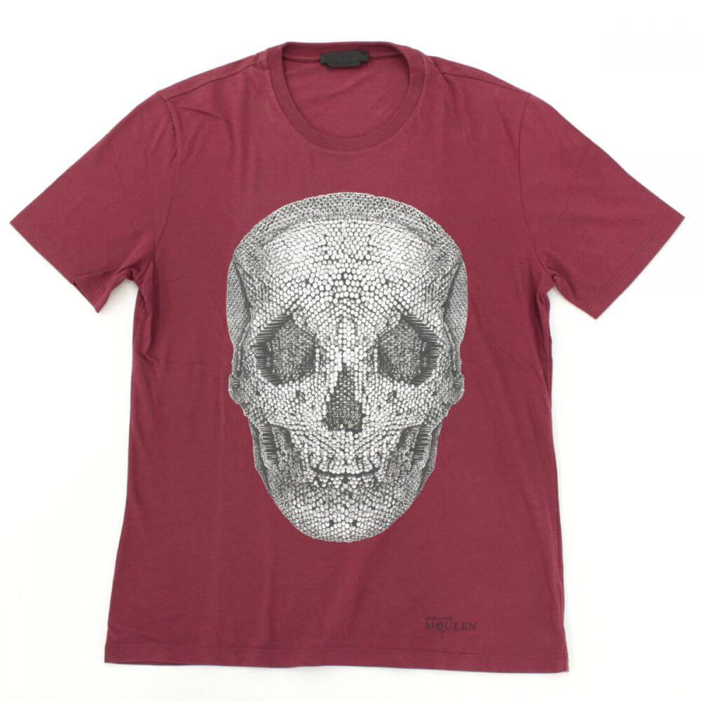 スカルプリント 半袖Tシャツ