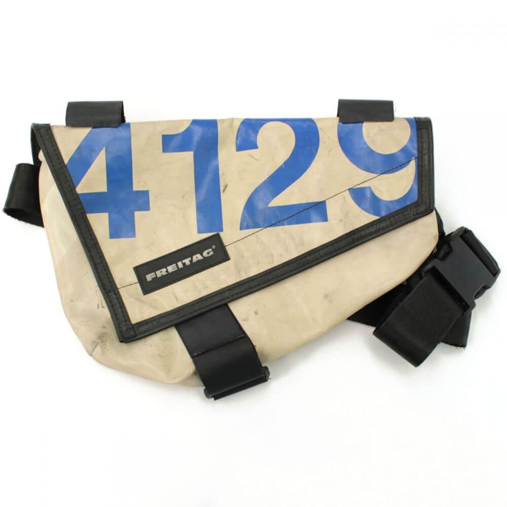 ボディバッグ/ナイトライダー/自転車/ナンバリング/4129/PVC/ホワイト