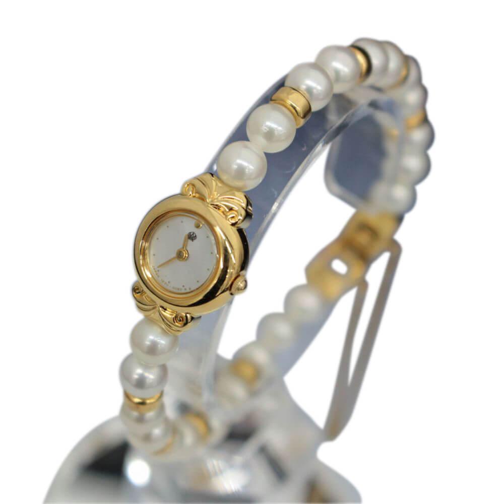 腕時計/パールブレス/クォーツ/ 1E20-2040
