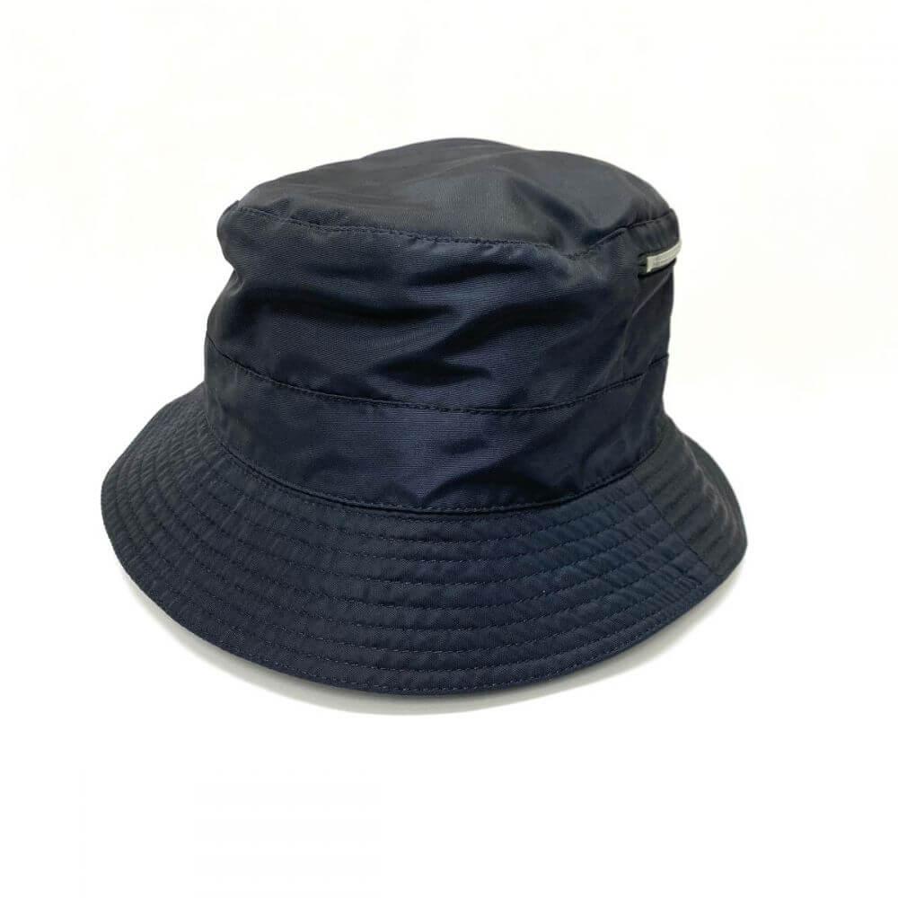 ナイロン帽子/ブラック