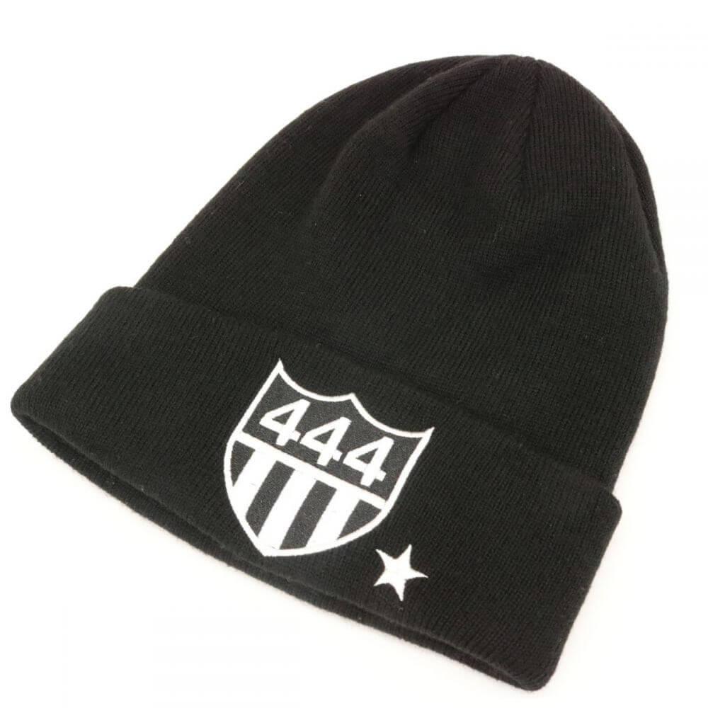 ニット帽/444/ブラック