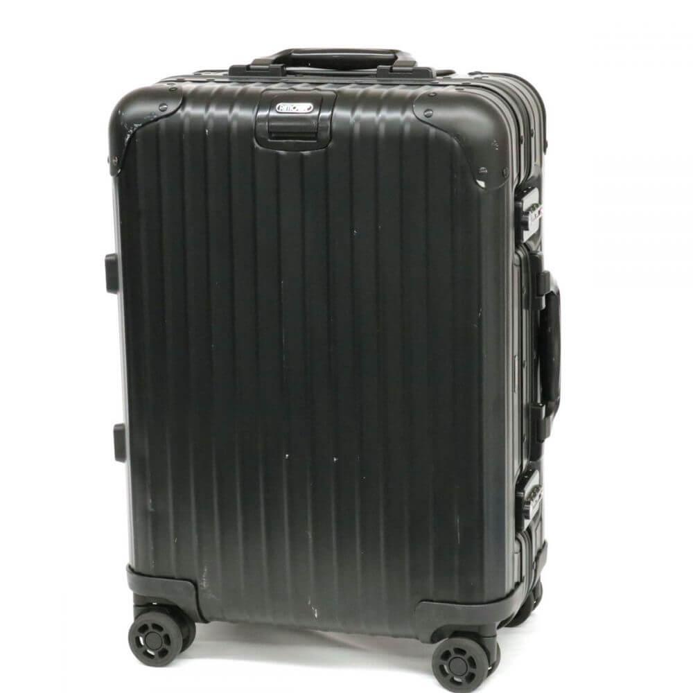 スーツケース/ステルス/ブラック
