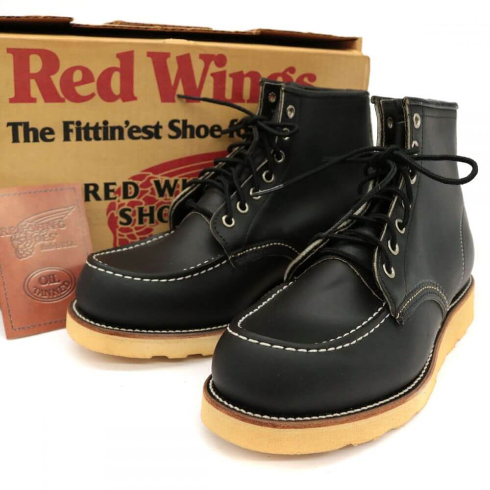 ブーツ/アイリッシュセッター/8179/刺繍タグ/97年製/デッドストック/レザー/ブラック