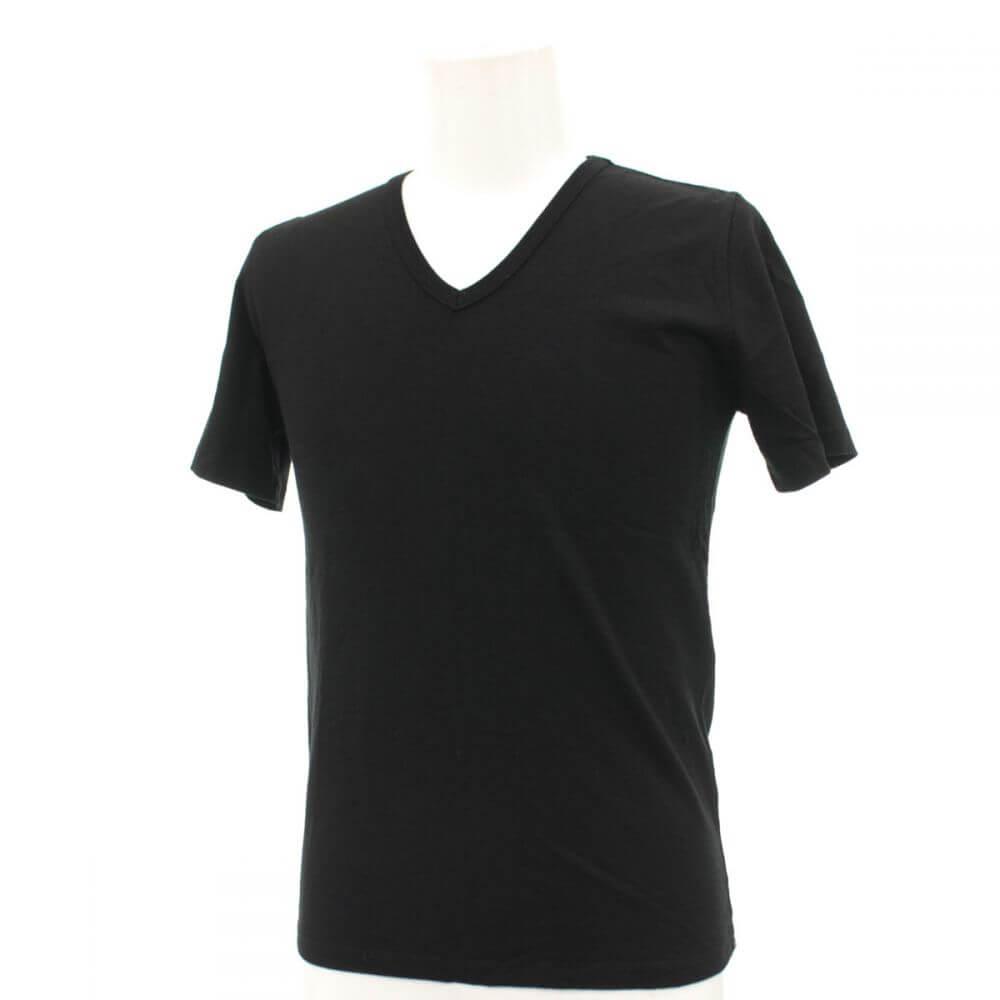 半袖Tシャツ/二丁拳銃柄/Vネック