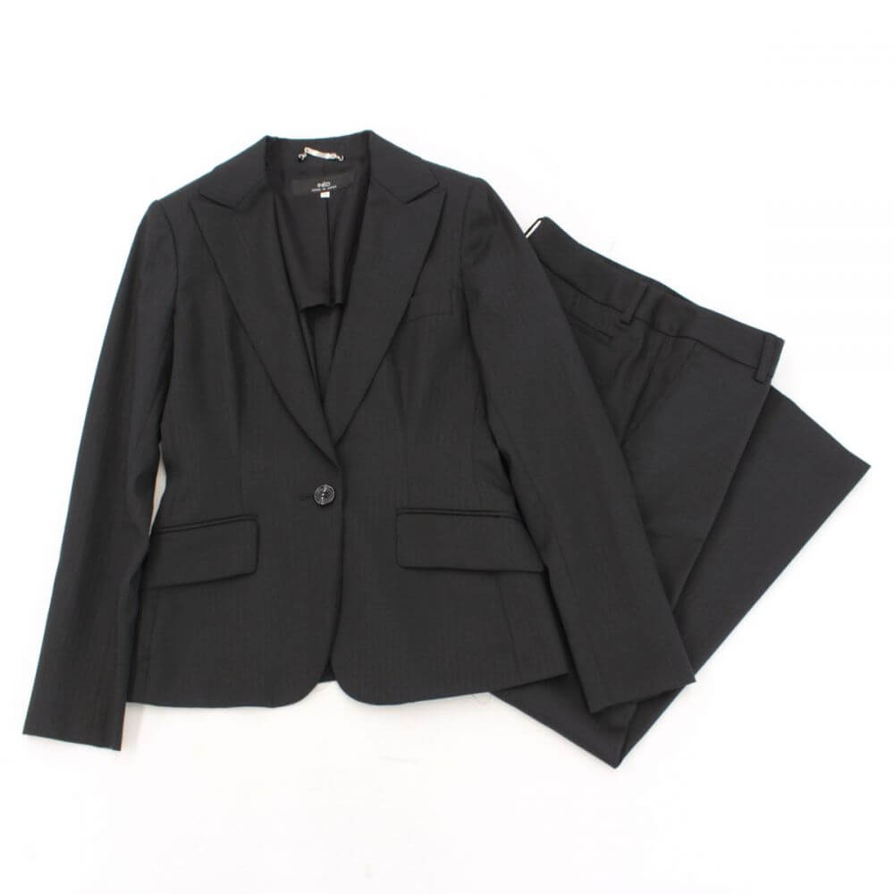 パンツスーツ/ブラック