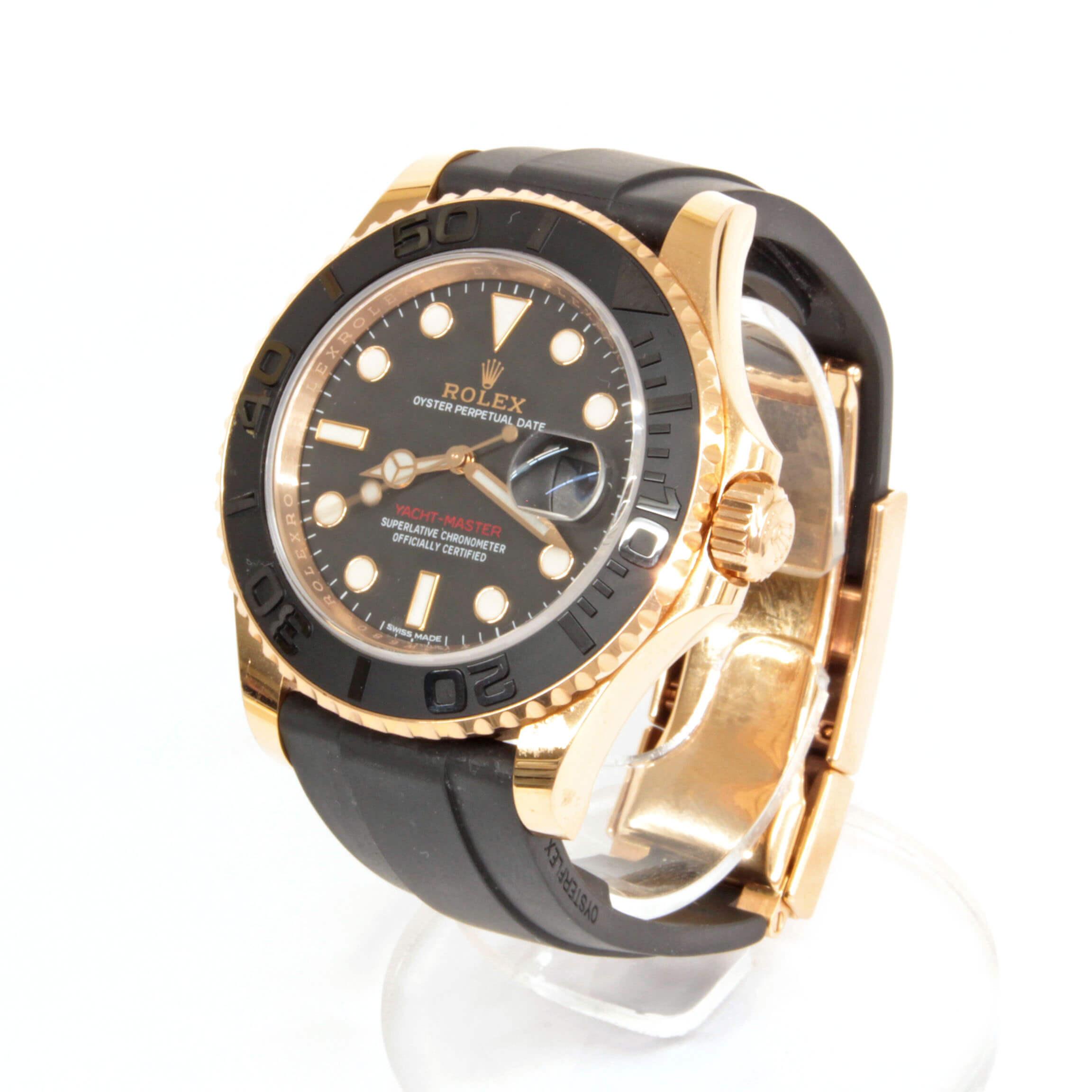 ヨットマスター40/腕時計/116655 /ブラック