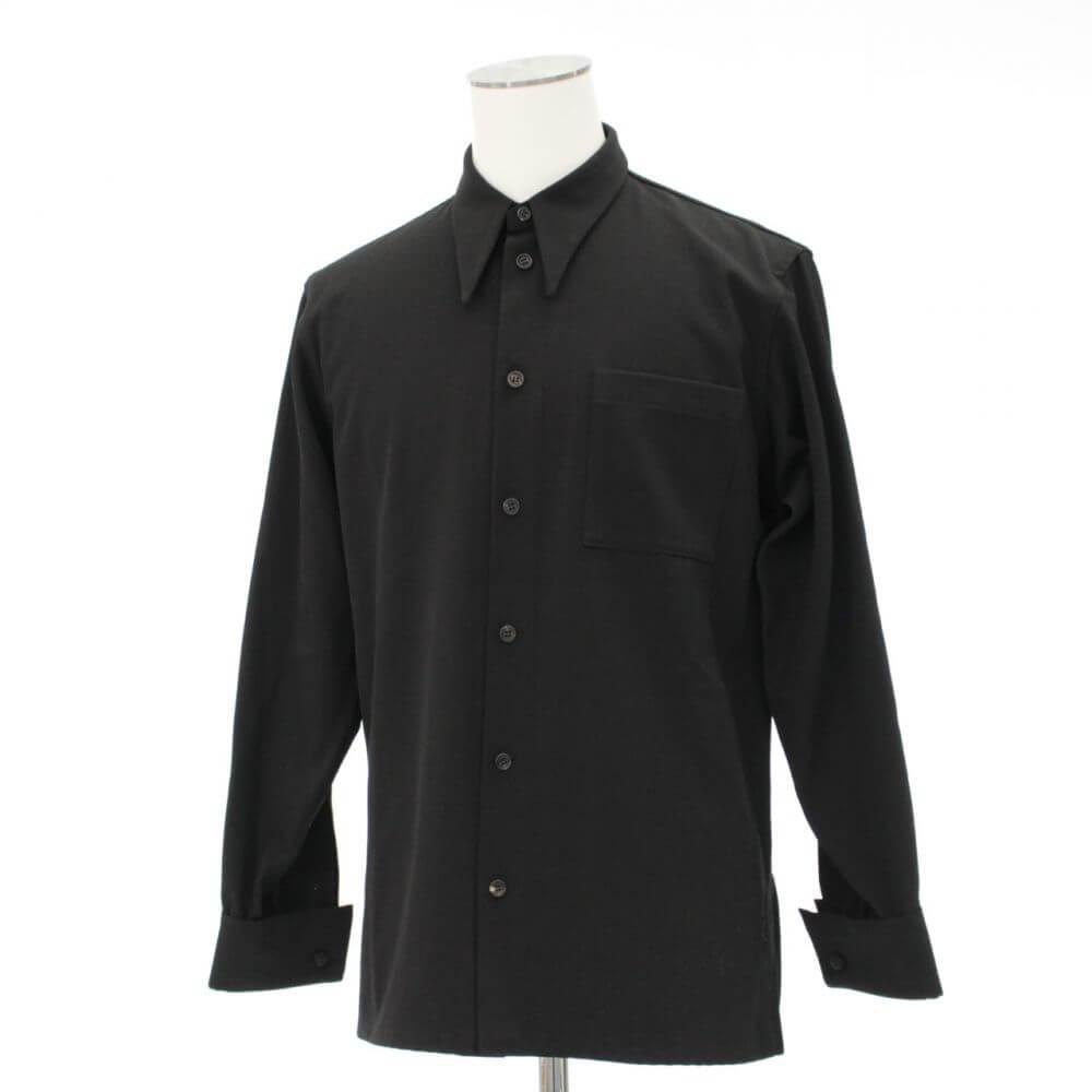 デザインシャツ/ブラック