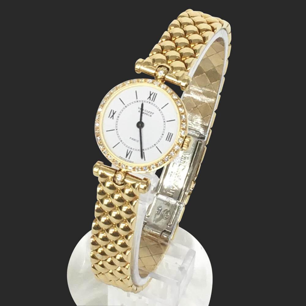 腕時計/ラ・コレクション/K18YG/ベゼルダイヤ