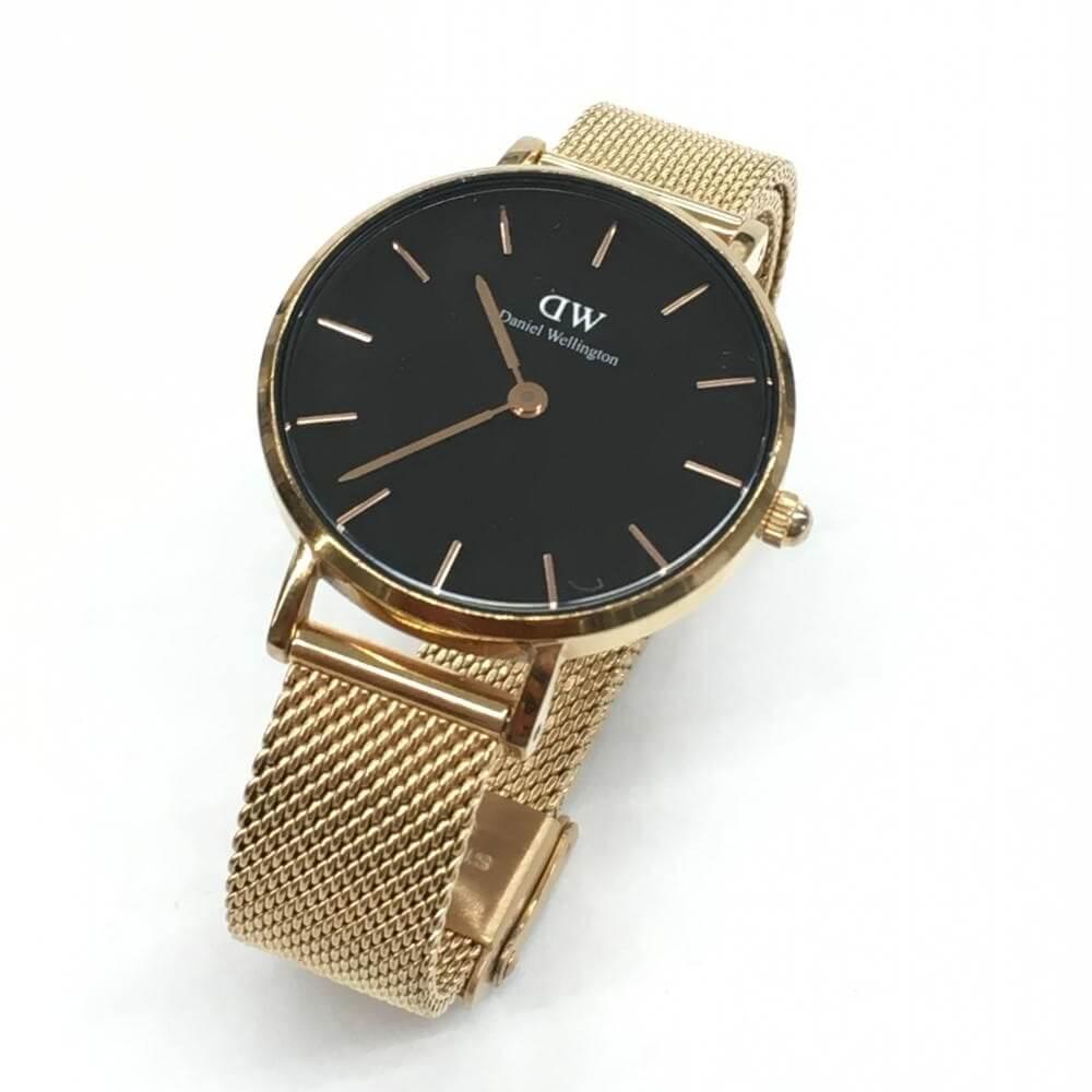 腕時計/クオーツ/ゴールド