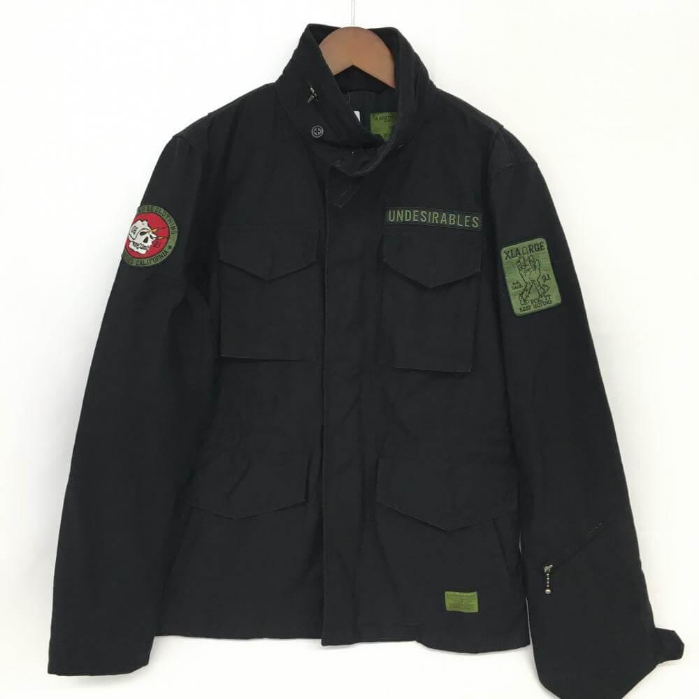 M-65ジャケット/ワッペン