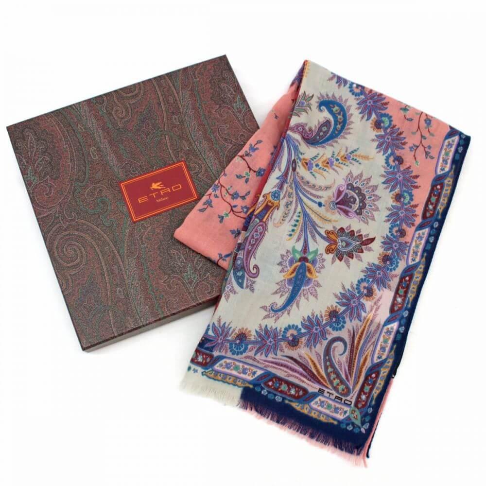 カシミアxウールスカーフ