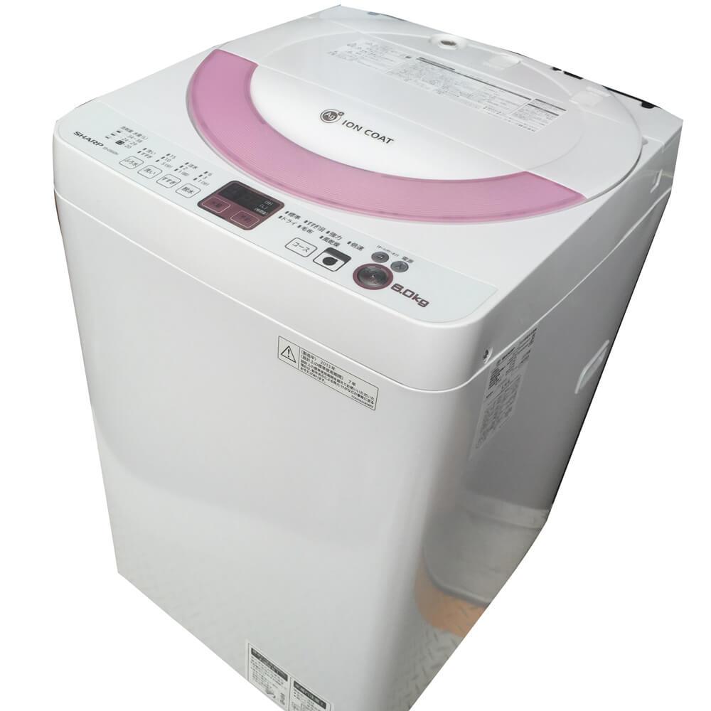 シャープ 縦型洗濯機 8.0kg