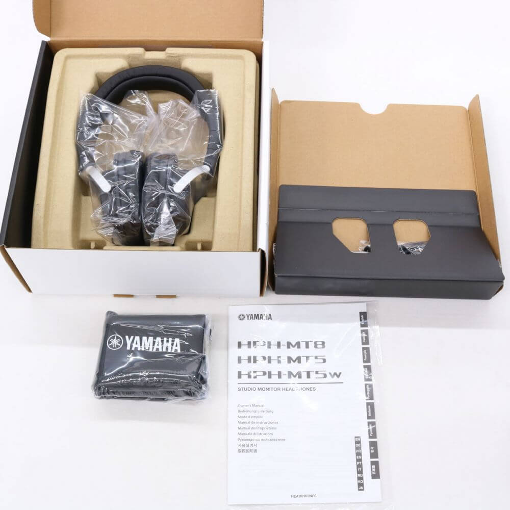 YAMAHA ヤマハ HPH-MT8 スタジオモニター ヘッドホン ヘッドフォン