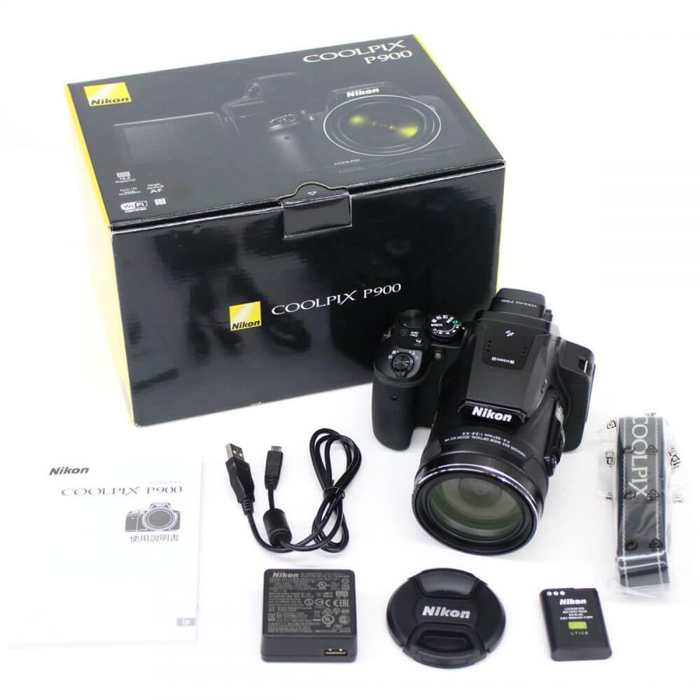 ニコン Nikon COOLPIX P900 デジタルカメラ 超望遠高画質