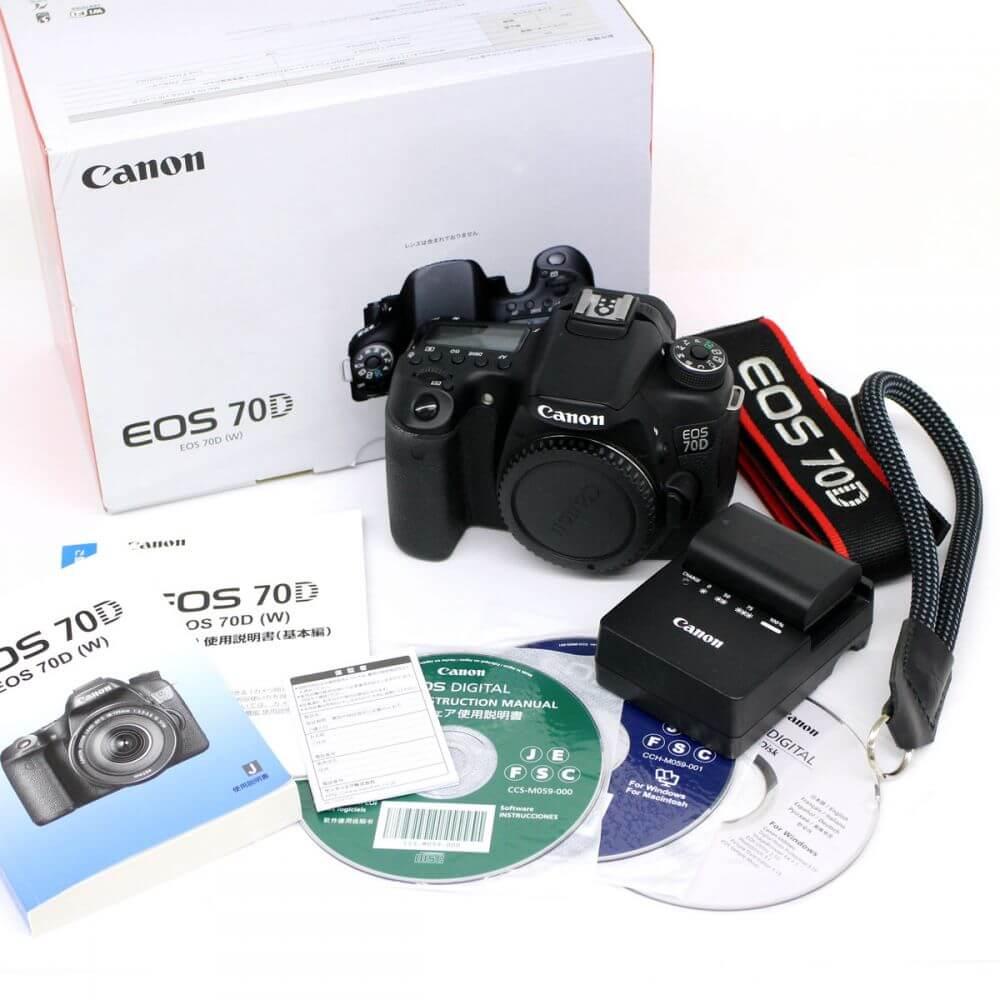 Canon/EOS 70D/デジタル一眼レフカメラ