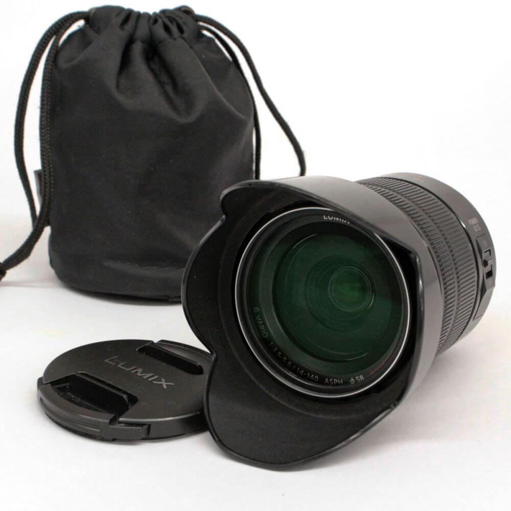 LUMIX ルミックス G VARIO 1:3.5-5.6/14-140mm ASPH POWER O.I.S. カメラ レンズ
