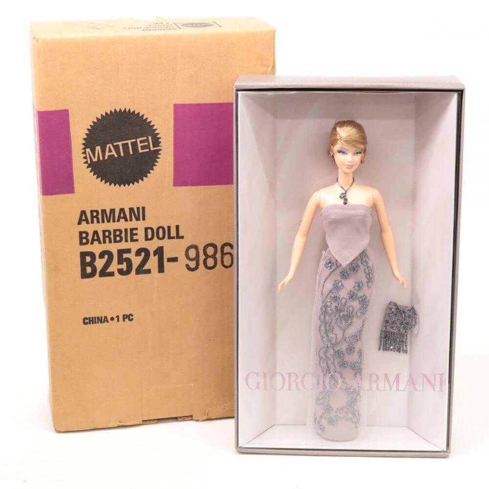 MATTEL マテルジョルジオ アルマーニ バービー人形  B2521-9866