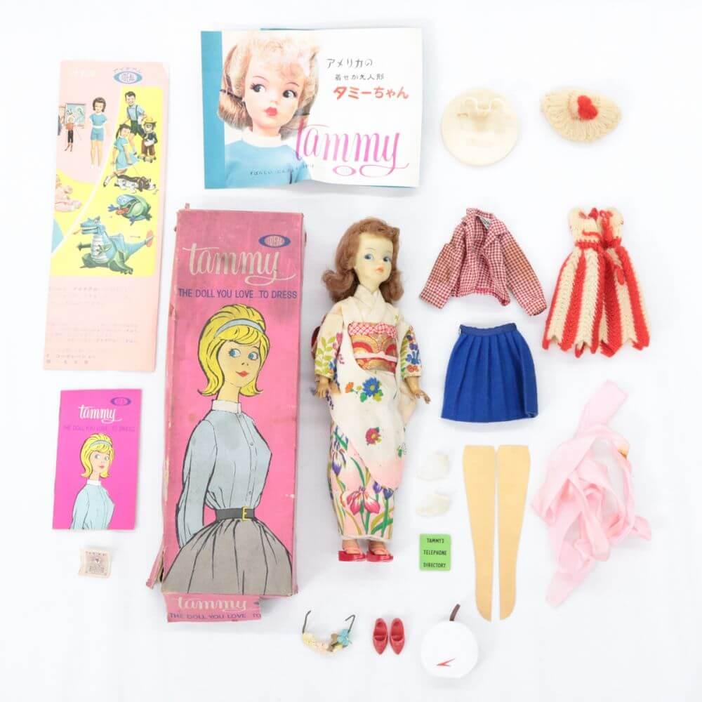 IDEAL TOY アイディアル・トイズ タミーちゃん 人形 和服
