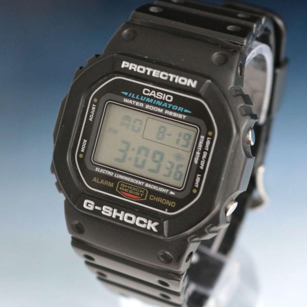 Gショックの時計