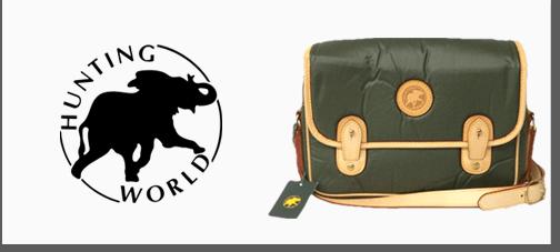 ハンティングワールドのバッグ