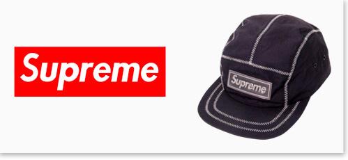 シュプリームの帽子