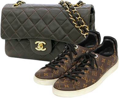 ブランドバッグ靴