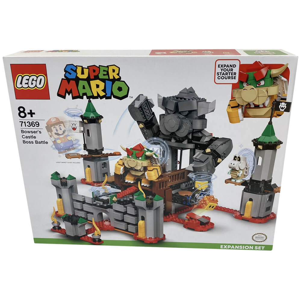 LEGO(レゴ)  スーパーマリオ・けっせんクッパ城!チャレンジ/71369