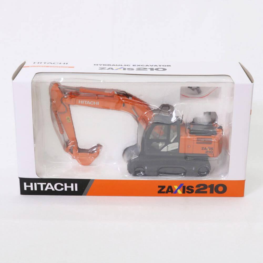 日立建機 日立 HITACHI 油圧ショベル ZAXIS210 ミニカー 1/50 ミニチュア 重機