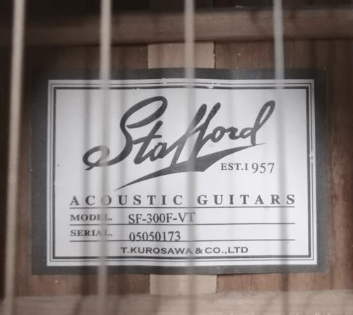 ギター説明書の査定画像