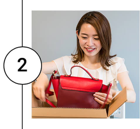商品の梱包と発送