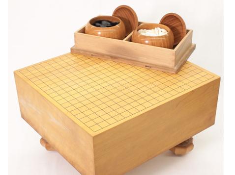 碁盤/脚付き 厚さ16.7㎝
