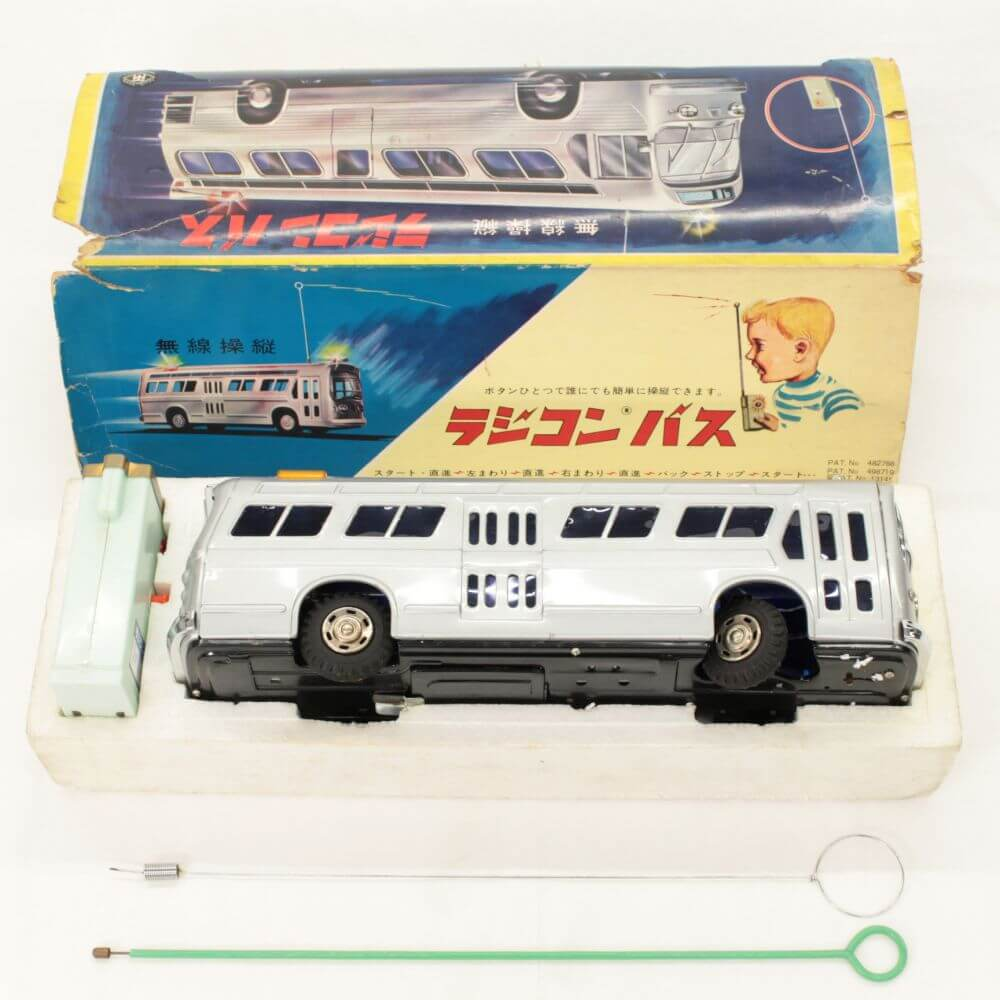 増田屋 無線操縦 ラジコンバス ブリキ 昭和レトロ