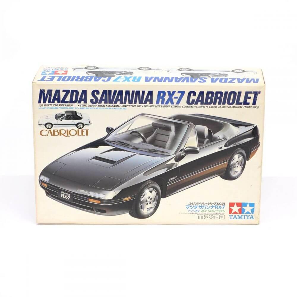 TAMIYA タミヤ 1/24 スポーツカーシリーズNo.74 MAZDA マツダ サバンナRX-7 カブリオレ プラモデル