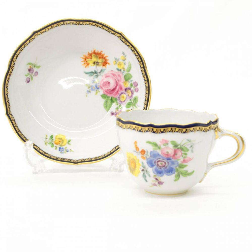 ランズバーグ六つの花のカップ&ソーサー