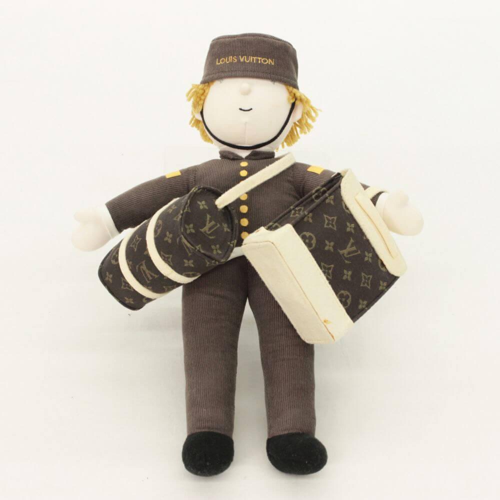 ルイヴィトン 限定ノベルティ ベルボーイ グルーム人形